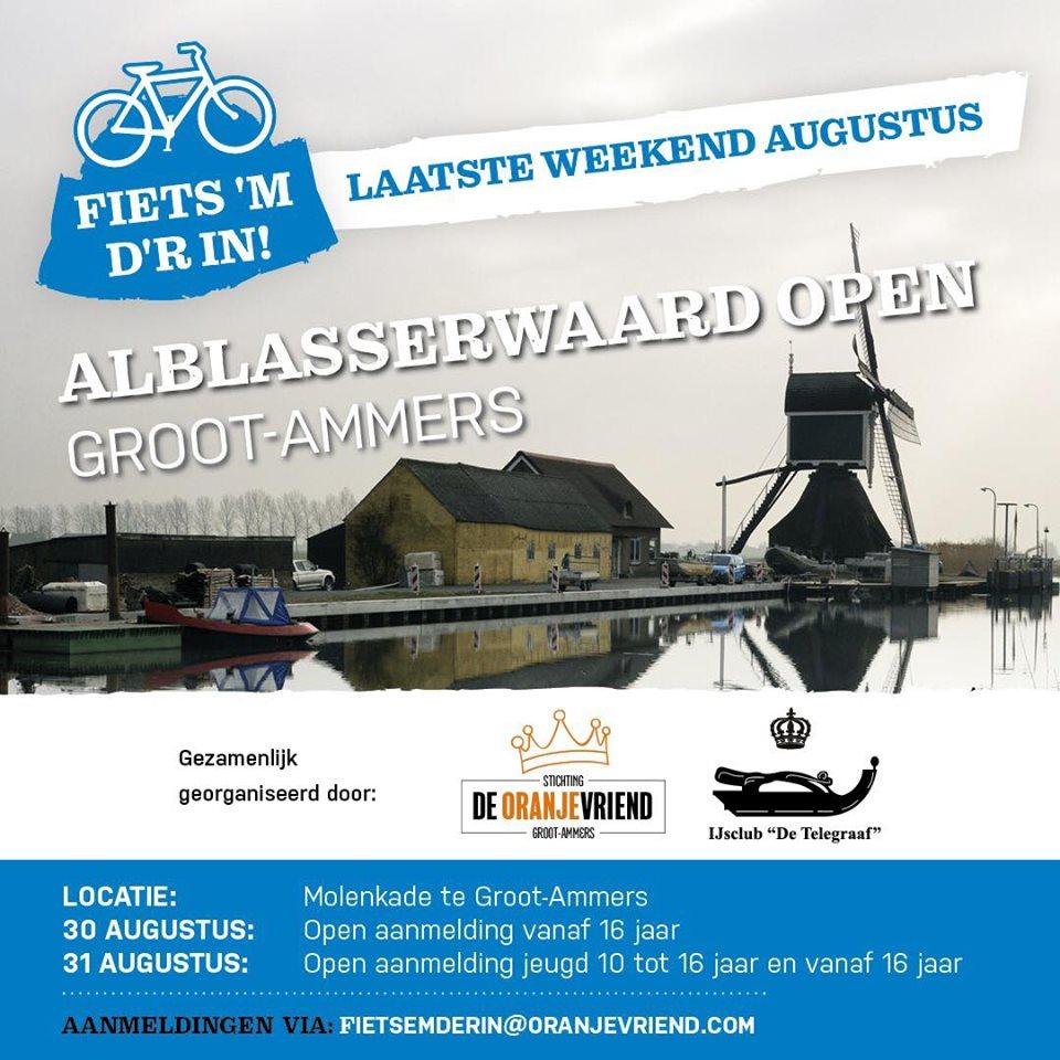 Fiets 'm d'r in 2019 Alblasserwaard open